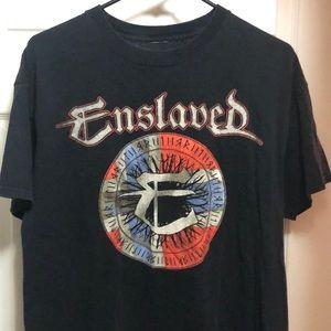 Enslaved 2014 tour shirt Norwegian extreme metal